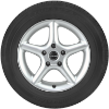 Bridgestone Turanza ER33 RFT Side View