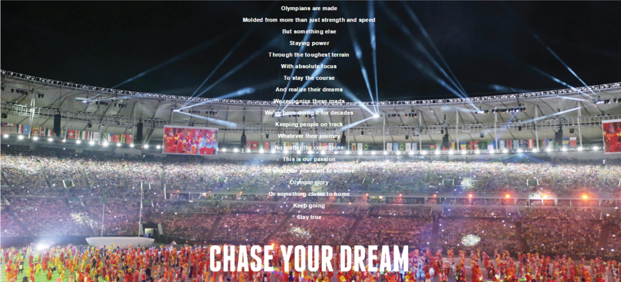 Bridgestone Chase Your Dream Manifesto